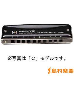 HAMMOND HA-20 D スズキ 10穴ハーモニカ
