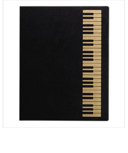 FL95/KB/BLG 楽譜ファイル ケンバン ミュージックレッスンファイル BLG ブラックゴールド