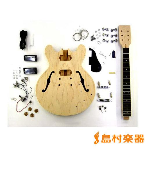 ER-KIT-ES エレキギターキット セミアコタイプ