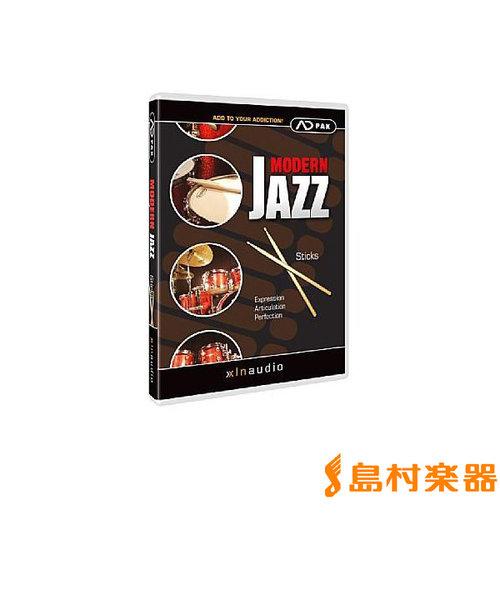 Modern Jazz Sticks プラグインソフト ドラム音源 Addictive Drums 専用 拡張音源