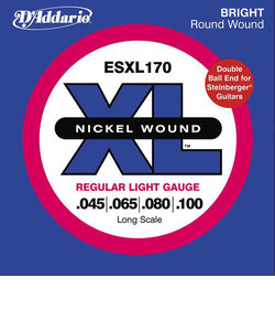 ESXL170 ベース弦 XL Nickel Round Wound Long Scale ライトゲージ/Double Ball 045-100