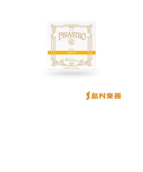 315821 GOLD ヴァイオリン弦 バイオリン弦 ゴールド E線 4/4用 Mittel スチール弦 【ループエンド】 【バラ弦1本】
