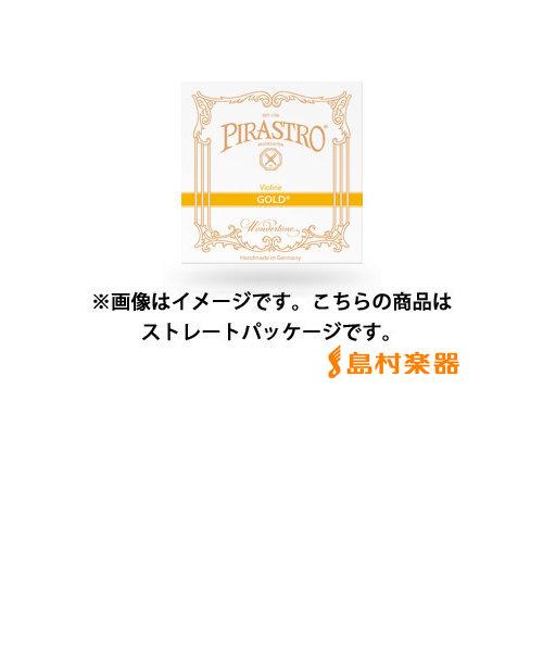 215322 GOLD ヴァイオリン弦 バイオリン弦 ゴールド D線 4/4用 Mittel ガット/シルバーアルミ巻 【バラ弦1本】 【ストレートパッケージ】