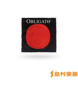 411240 OBLIGATO ヴァイオリン弦 バイオリン弦 オブリガート A線 3/4、1/2用 Mittel シンセティック/アルミ巻 【バラ弦1本】