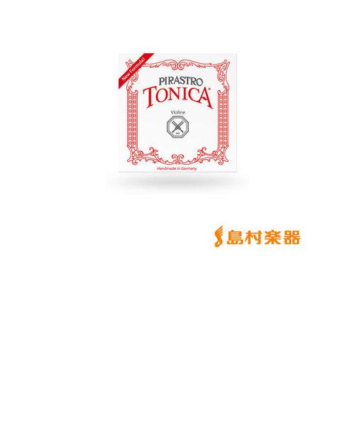 412381 TONICA ヴァイオリン弦 バイオリン弦 トニカ D線 1/16、1/32用 Mittel シンセティック/シルバー巻 【バラ弦1本】