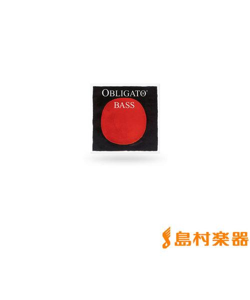441400 コントラバス弦 OBLIGATO オブリガート 3/4用 Mittel ソロチューニング用 FIS4線 【バラ弦1本】