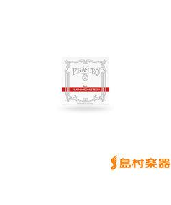 342300 コントラバス弦 FLAT-CHROMESTEEL フラットクロムスチール 3/4用 ソロチューニング用 B3線 【バラ弦1本】