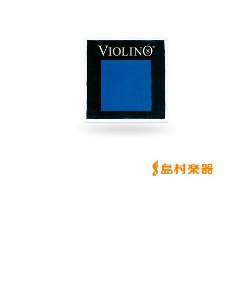 417461 VIOLINO ヴァイオリン弦 バイオリン弦 ヴィオリーノ G線 1/4、1/8用 Mittel シンセティック/シルバー巻 【バラ弦1本】