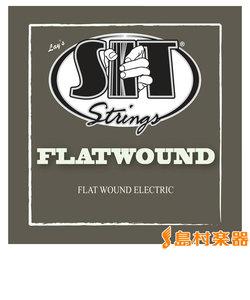 F-1252 エレキギター弦 ミディアムゲージ 012-052 セット弦 【フラットワウンド】 【エレキ弦】