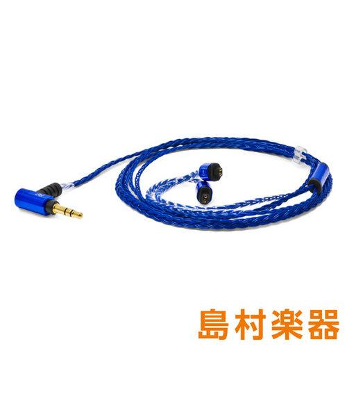 Palette8 AT-IM (Sapphire Blue) 【Audio Technica IMシリーズ用】 イヤホン用交換ケーブル リケーブル
