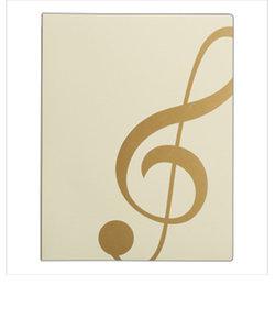 FL95/GC/IVG 楽譜ファイル ト音記号 ミュージックレッスンファイル IVG アイボリーゴールド