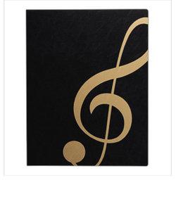 FL95/GC/BLG 楽譜ファイル ト音記号 ミュージックレッスンファイル BLG ブラックゴールド