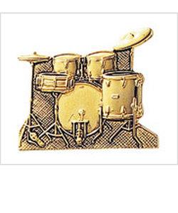 MM-80P/DR/G ゴールド ブローチ/ドラムセット