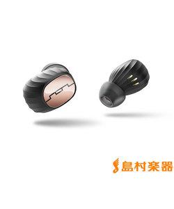 AMPS AIR ゴールド Bluetooth ワイヤレスイヤホン