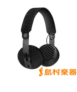 RISE ブラック Bluetooth対応 ワイヤレスヘッドホン