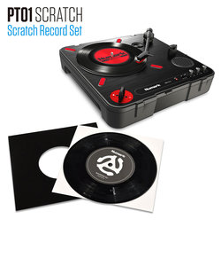 SCRATCH RECORD SET ターンテーブルセット 7インチ レコード