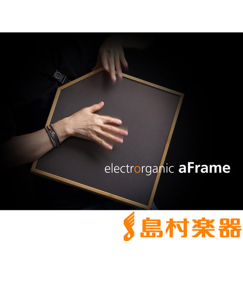 エレクトロオーガニック・パーカッション aFrame 電子打楽器