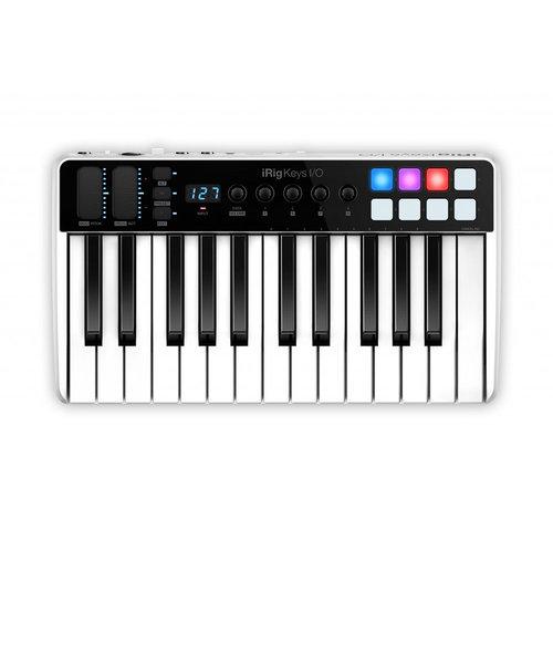 iRig Keys I/O 25 MIDIキーボード 25鍵盤 [オーディオインターフェイス機能付き]