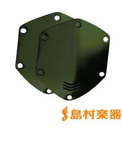 CUSTOM SHIELD FOR OVEREAR HEADPHONE MATTE GREEN 交換用カスタムパネル
