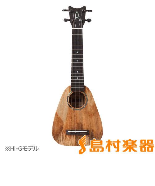 XS Soprano Spalted Mango HI-G ウクレレ ソプラノ HI-G弦