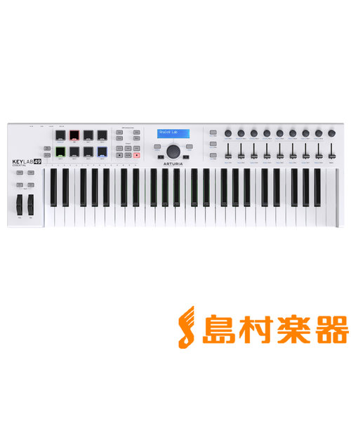 KeyLab Essential 49 (ホワイト) 49鍵盤 MIDIキーボード