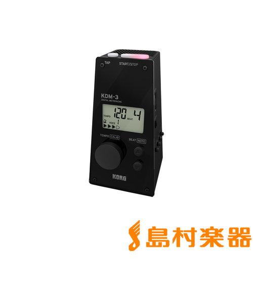 KDM-3 BK デジタルメトロノーム ブラック