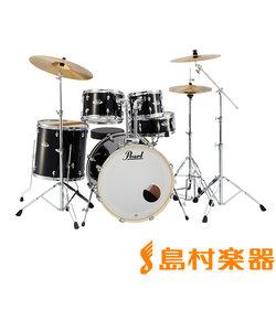 """EXPORT EXX725S/C #31 Jet Black シンバル付きドラムセット スタンダードサイズ 【バスドラム22""""】"""