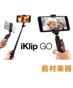 iKlip GO セルフィ―スティック/多機能スタンド Bluetoothリモートシャッター付き