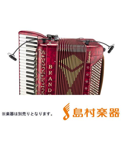d:vote CORE4099シリーズ アコーディオン用マイクセット 楽器用マイクロホン