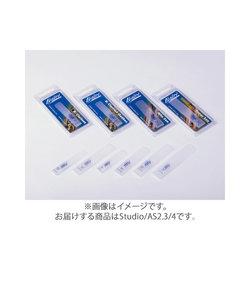 Studio/AS2.3/4 リード アルトサックス用 樹脂製 【硬さ:2.3/4】