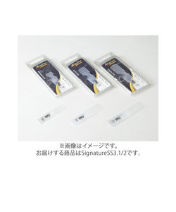 SignatureSS3.1/2 リード ソプラノサックス用 樹脂製 【硬さ:3.1/2】