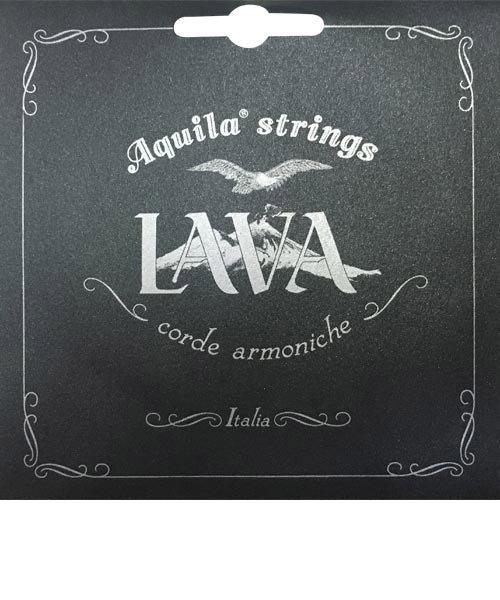 AQL-SLW 111U グレーブラック ウクレレ弦 ソプラノ用 Low-G 4th巻線 LAVA SERIES