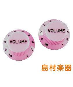 PK-0154-021 Pink ノブ ボリューム ストラトキャスター用 2個入り Pink Volume Knobs 5030