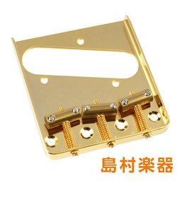 TB-5125-002 Gold サドルブリッジ テレキャスター用 Gold Vintage Compensated Saddle Bridge 6015
