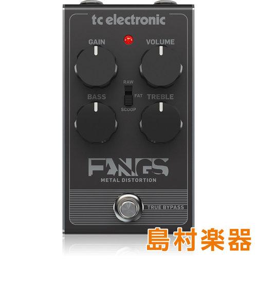 Fangs Metal Distortion コンパクトエフェクター ハイゲイン・ディストーション