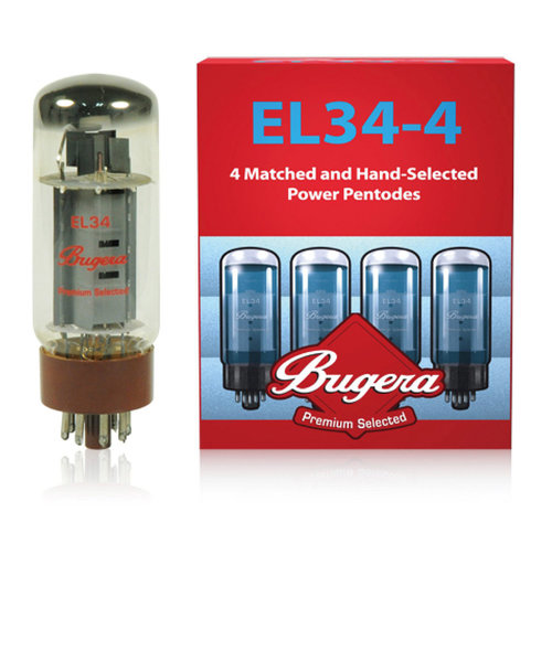 EL34-4 真空管 パワー五極管4本セット