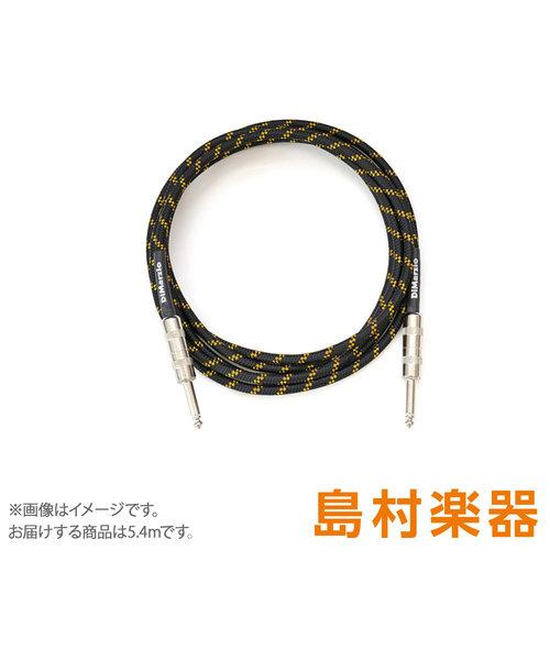 EP1718SS Black / Yellow シールド 5.4m ストレート-ストレート Guitar Cables SS