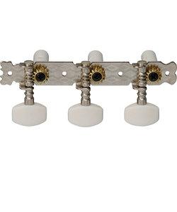 MHC90 ニッケルクローム クラシックギター用マシンヘッド 2個1組
