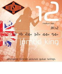 JK12 アコースティックギター弦(6弦)