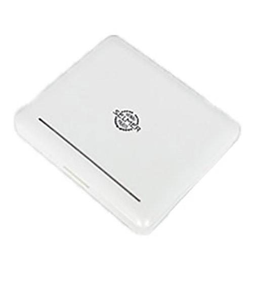 パールホワイト プラスチック製リードケース B♭クラリネット用12枚入