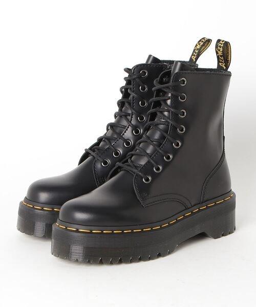 【Dr.martens/ドクターマーチン】厚底 ブーツ  QUAD RETRO JADON 8EYE BOOT 15265001