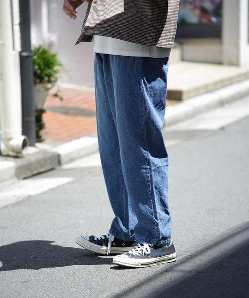 【ユニセックスでオススメ!/定番8色】シェフパンツ/バギーパンツ/chef pants/ビッグシルエットパンツ/ツイル/コーデュロイ/ペイズリー/カモフラージ