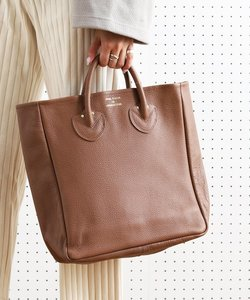 EMBOSSED LEATHER TOTE M/エンボスレザートートバッグ