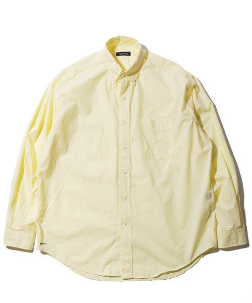 NAUTICA / ノーティカ BIG SILHOUETTE BD SHIRT / ビッグシルエット ボタンダウンシャツ / ノーチカ