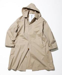 Hooded Balmacaan Coat/フーデットバルマカーンコート
