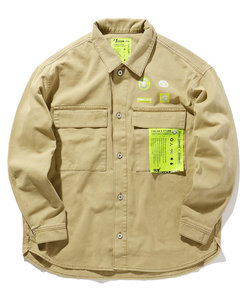 KAL×FREAK'S STORE / カル CPOシャツ / シーピーオー シャツジャケット
