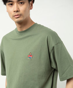 SKATE BEAR LOGO SHORT SLEEVE T-SHIRT/スケート ベアー ロゴ ショート スリーブ Tシャツ/ベアロゴ/刺繍ロゴ/ワンポイント