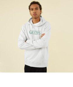 GUESS Originals Eco Roy Fleece Logo Hooded Parka