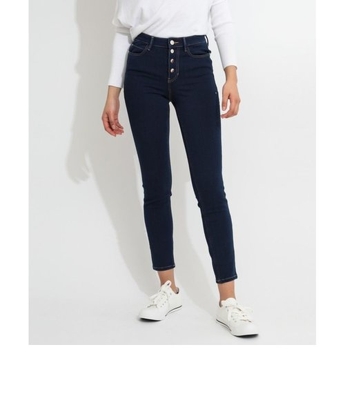 1981 EXPOSED BUTTON High-Rise Skinny Denim Pant