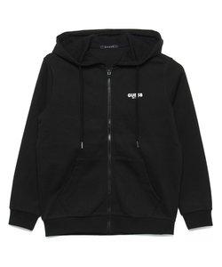 Logo Hooded Zip-Up Parka